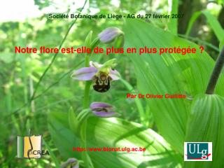 Notre flore est-elle de plus en plus protégée?