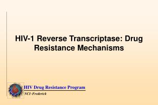 HIV-1 Reverse Transcriptase: Drug Resistance  Mechanisms