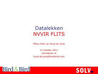 Datalekken NVVIR FLITS