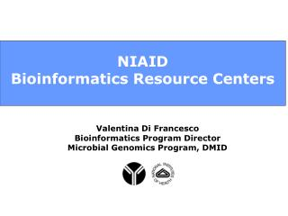 NIAID  Bioinformatics Resource Centers