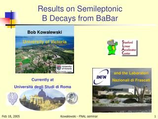Results on Semileptonic  B Decays from BaBar