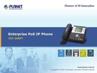 Enterprise PoE IP Phone