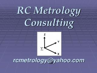 RC Metrology Consulting