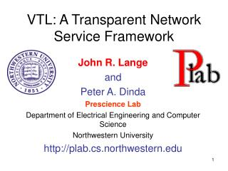VTL: A Transparent Network Service Framework