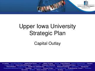 Upper Iowa University Strategic Plan