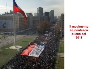 Il movimento studentesco cileno del 2011