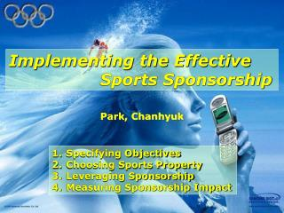 Implementing the Effective                             Sports Sponsorship