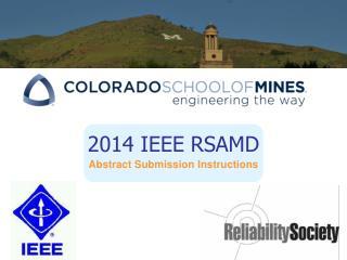 2014 IEEE RSAMD