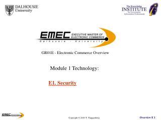 E1. Security