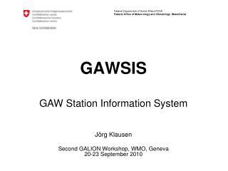 GAWSIS