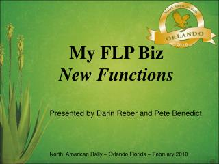 My FLP Biz New Functions