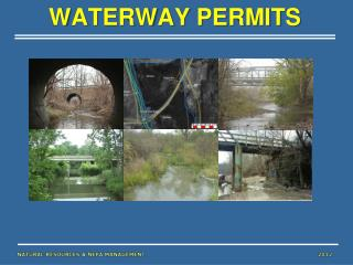 WATERWAY PERMITS