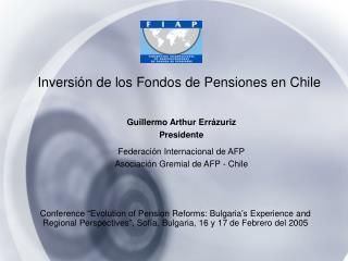Inversión de los Fondos de Pensiones en Chile