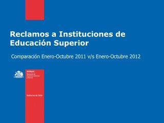 Reclamos a Instituciones de Educación Superior