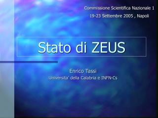 Stato di ZEUS