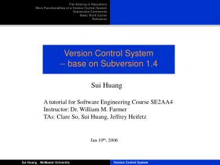 Version Control System