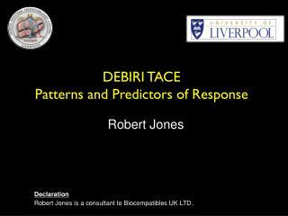 DEBIRI TACE   Patterns and Predictors of Response