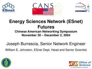 Joseph Burrescia, Senior Network Engineer
