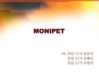 MONIPET
