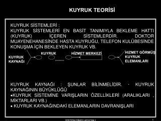 KUYRUK S İ STEMLER İ :