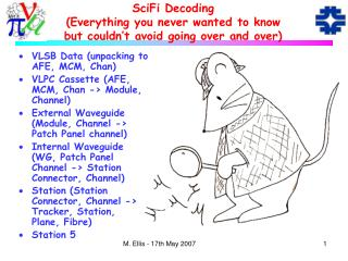SciFi Decoding (Everything you never wanted to know but couldn't avoid going over and over)
