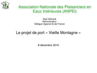 Association Nationale des Plaisanciers en Eaux Intérieures (ANPEI)