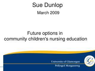 Sue Dunlop March 2009