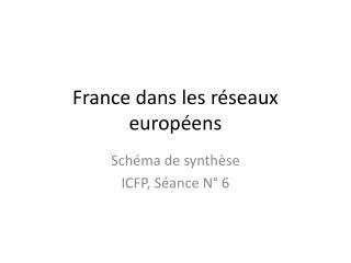 France dans les réseaux européens