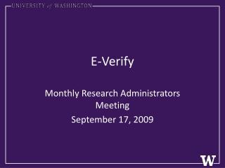 E-Verify
