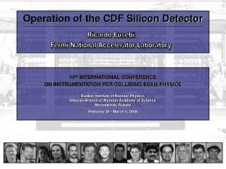 Operation of the CDF Silicon Detector