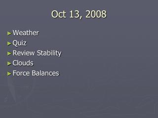 Oct 13, 2008