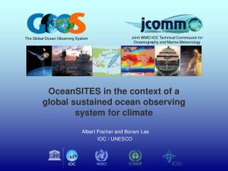 OceanSITES in the context of a  global sustained ocean observing  system for climate