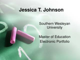 Jessica T. Johnson