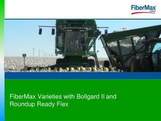 FiberMax & Stoneville-Bollgard II & Roundup Ready Flex