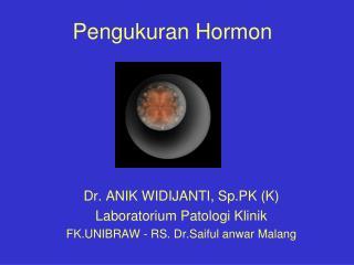Pengukuran Hormon
