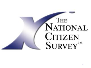 What is  The National Citizen Survey TM ?