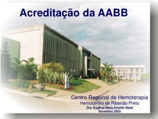 Acreditação da AABB
