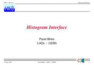 Histogram Interface