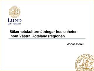 Jonas Borell
