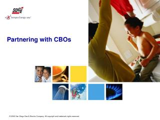 Partnering with CBOs