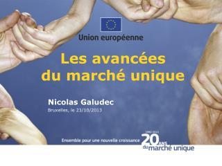 Les  avancées du  marché  unique