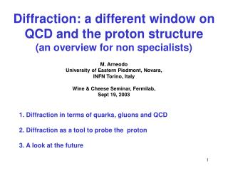 Diffraction: a different window on QCD and the proton structure (an overview for non specialists)