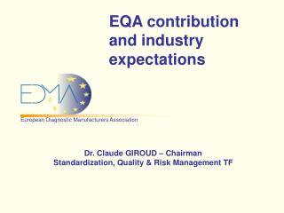 EQA contribution and industry expectations