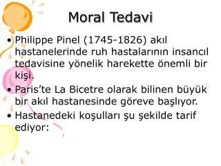 Moral Tedavi
