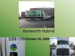 Kenworth Hybrid