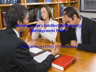 Intellectual property infringement policy