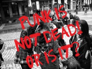 Inleiding: Ontstaan  van de  stroming.  Oversprong naar  Nederland.  Punk en de  kraakbeweging.