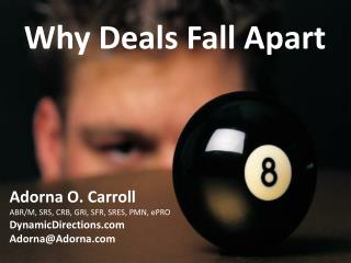 Why Deals Fall Apart