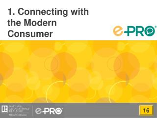 1. Connecting with the Modern Consumer