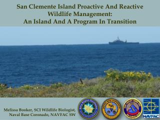 Melissa Booker, SCI Wildlife Biologist, Naval Base Coronado, NAVFAC SW